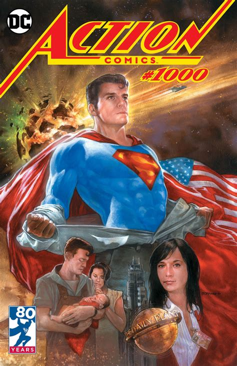 Action Comics #1,000 Dave Dorman Exclusive Variant Cover