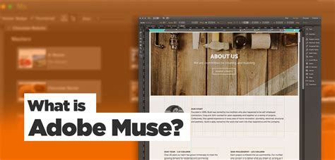 What Is Adobe Muse? Website Builder Adobe Software Overview