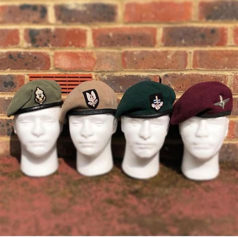 The Berets worn by members of the UKSF Community