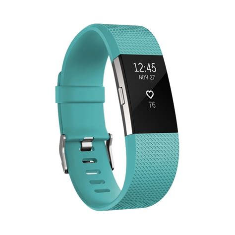 Fitbit Charge 2 Heart Rate + Fitness Wristband - Teal