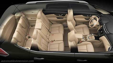 Nissan X-Trail 2014 dimensions, boot space and interior