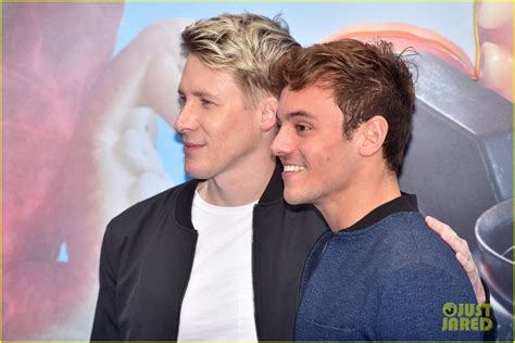 Tom Daley & Dustin Lance Black Step Out For 'Finding Dory