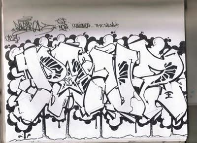 COllection Sketch graffiti wildstyle by AWSOME at Graffiti