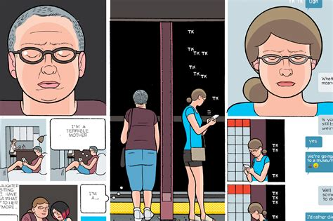 """Chris Ware's """"I Guess We're Here"""" 