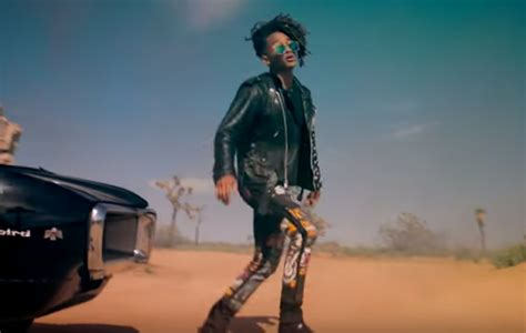 Jaden Smith unveils video for new track 'Watch Me'