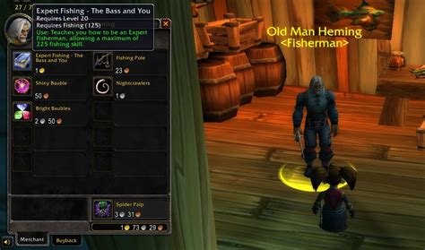 WoW Classic: Fishing Guide - Angeln in Azeroth