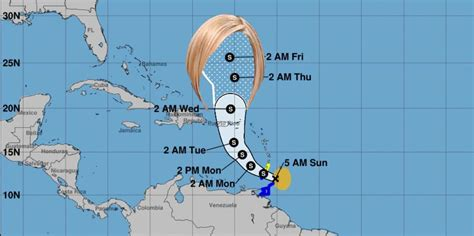 Tropical Storm Karen Sparks Jokes And Memes About Calling