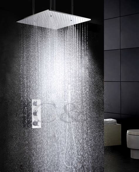 Atomizing And Rainfall Water Function Bathroom Products 20